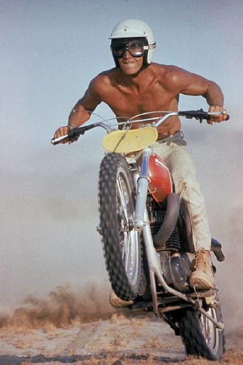 SURF COLLECTIVE NYC - STEVE MCQUEEN- 1971 Husqvarna 400 Cross