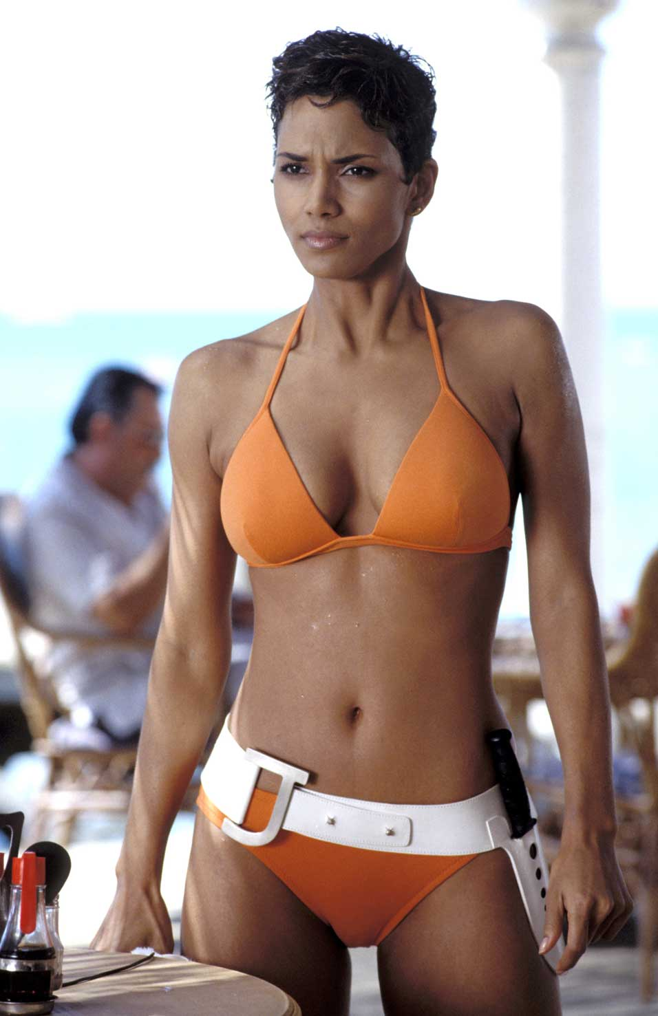 Halle Berry Bikini Surf Collective Nyc