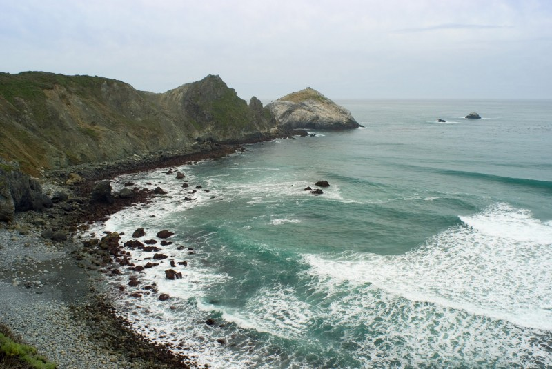 big sur coast seascape