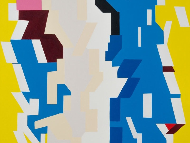 Clare Rojas Takes On Geometric Abstraction 800