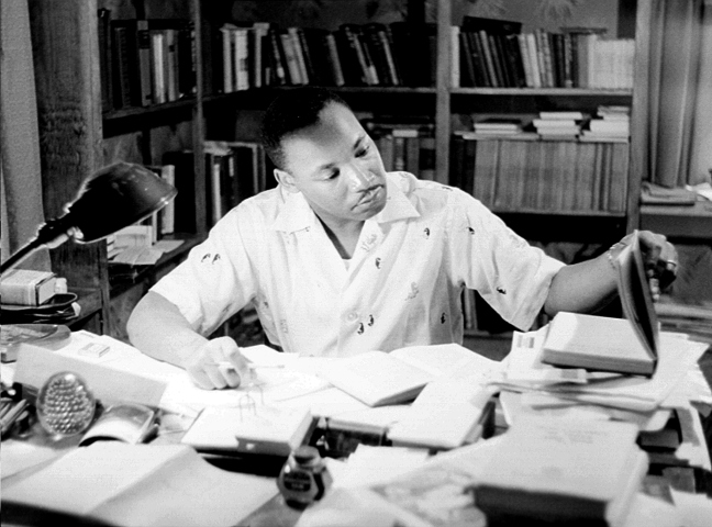 Photo of Martin Luther King Jr