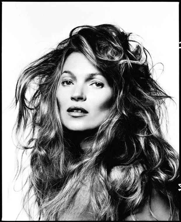 This Month: February - Kate Moss by David Bailey