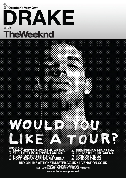 Drake and The Weekend London