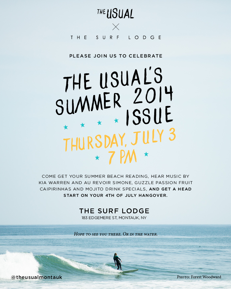 The Usual Summer Issue Launch Party - The Surf Lodge Montauk, New York