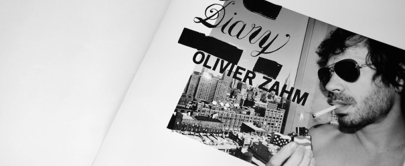 OLIVIER ZAHM O.Z. DIARY BOOK SIGNING 800