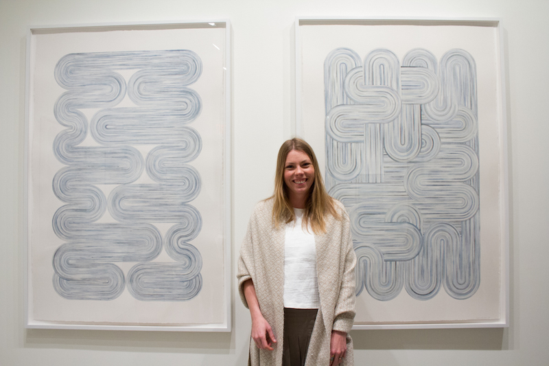 SERENA MITNIK-MILLER - Surf Collective NYC - Interview - Gallery Opening